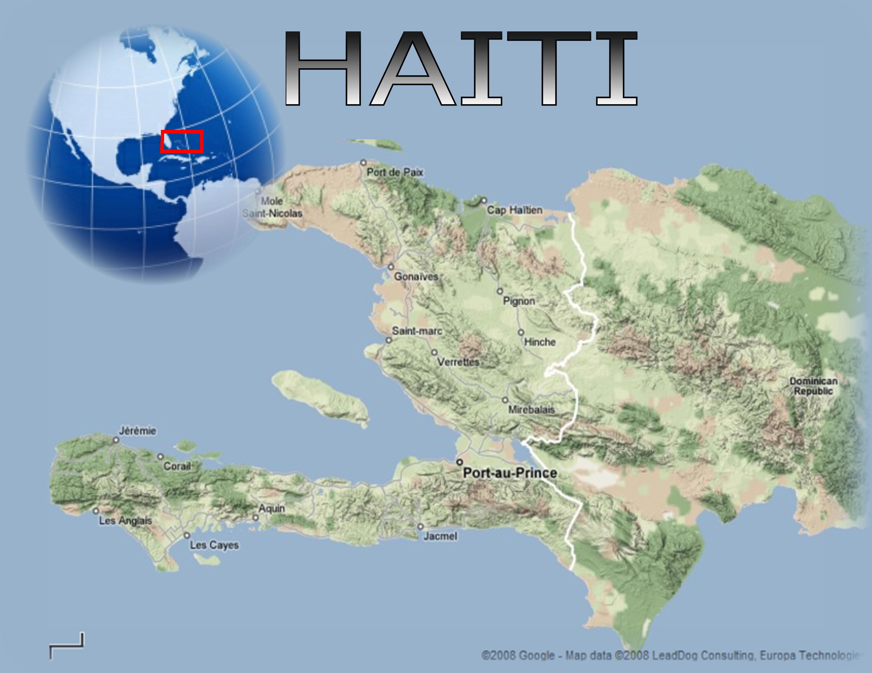 Chuyển phát nhanh đi Haiti